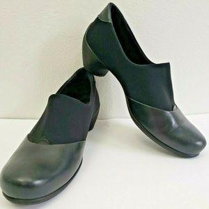 ECCO Gore Tex Heels Sculptured black Slip On PUMPS